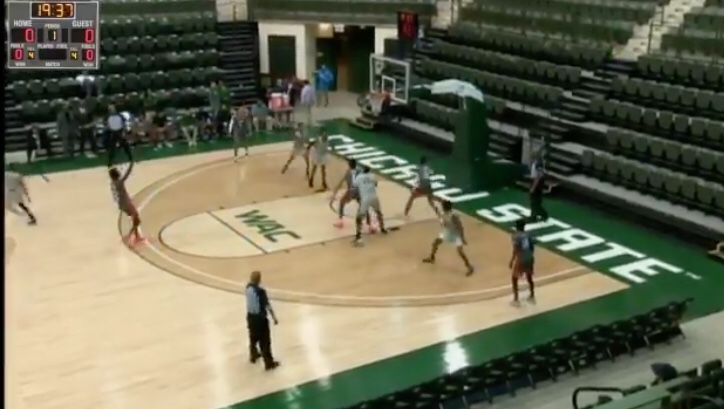 Chicago State Played A Game Today With More Players Than Fans