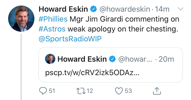 Howard Eskin Did It Again. How?