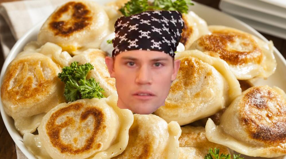 Recap of the Fat Tuesday Challenge: Kyle Eats 40 Pierogies In 30 Minutes