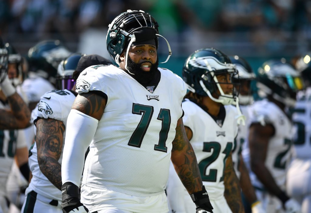 End of an Era: Jason Peters Out in Philadelphia