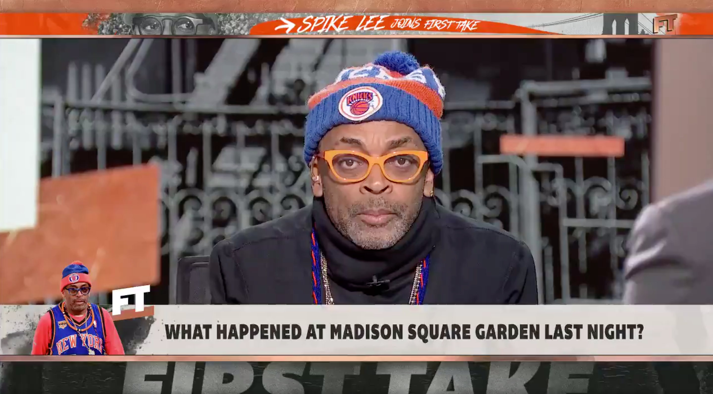 Spike Lee Will Not Attend Another Knicks Game for the Rest of This Season