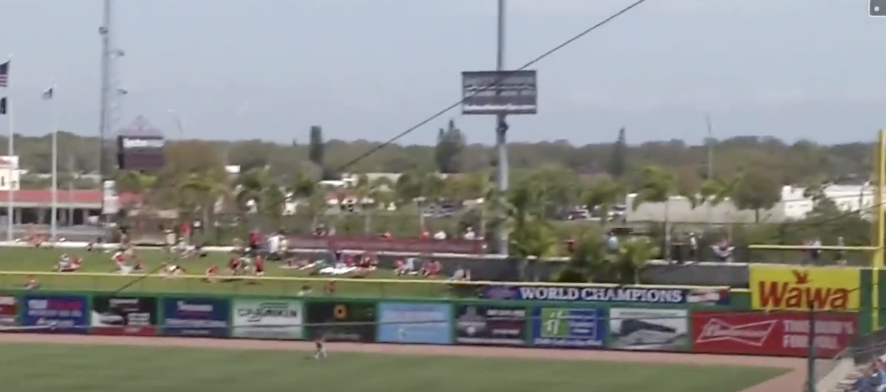 I Think Bryce Harper Just Caused A 10 Car Pileup On A Florida Highway With This Home Run