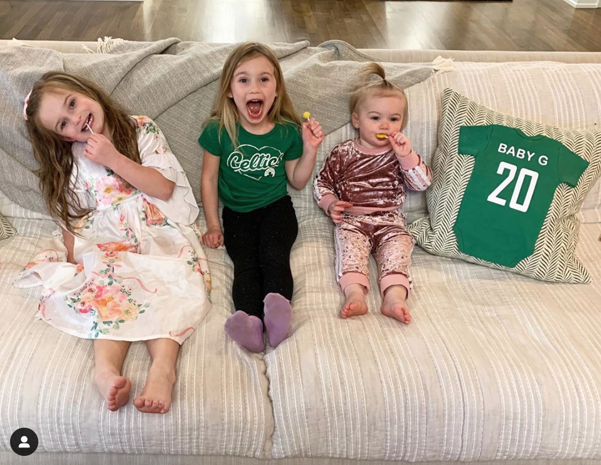 Daddy's Finally Happy: Gordon Hayward Is Having A Boy