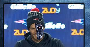 Tom Brady Is A Cyborg