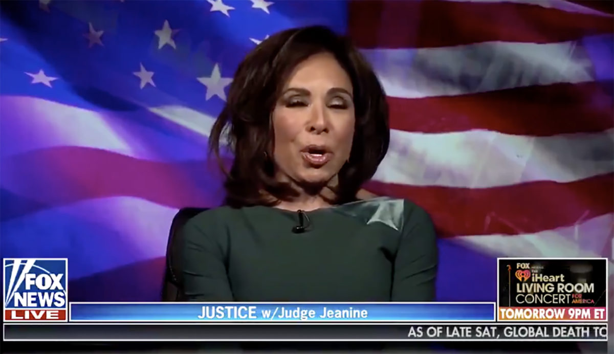 The Completely Unnecessary Blog that Would Have Saved Judge Jeanine's Career