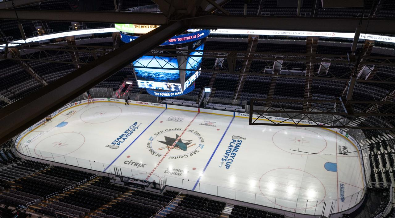Sharks Likely to Play in Empty Arena