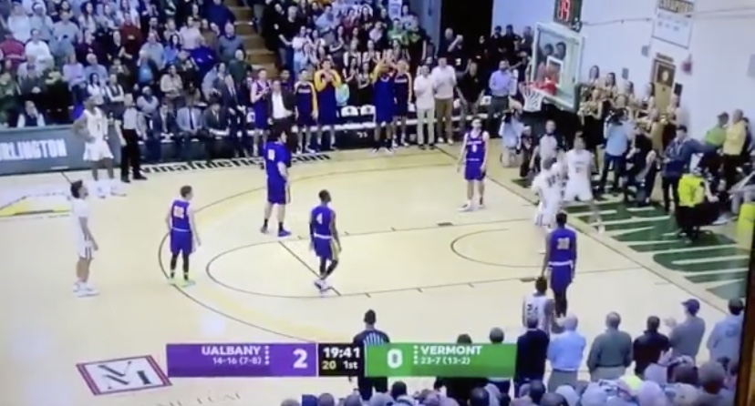 Vermont's Josh Speidel, Who Was In A Car Crash Four Years Ago That Ended His Career, Scores First Points On Senior Night