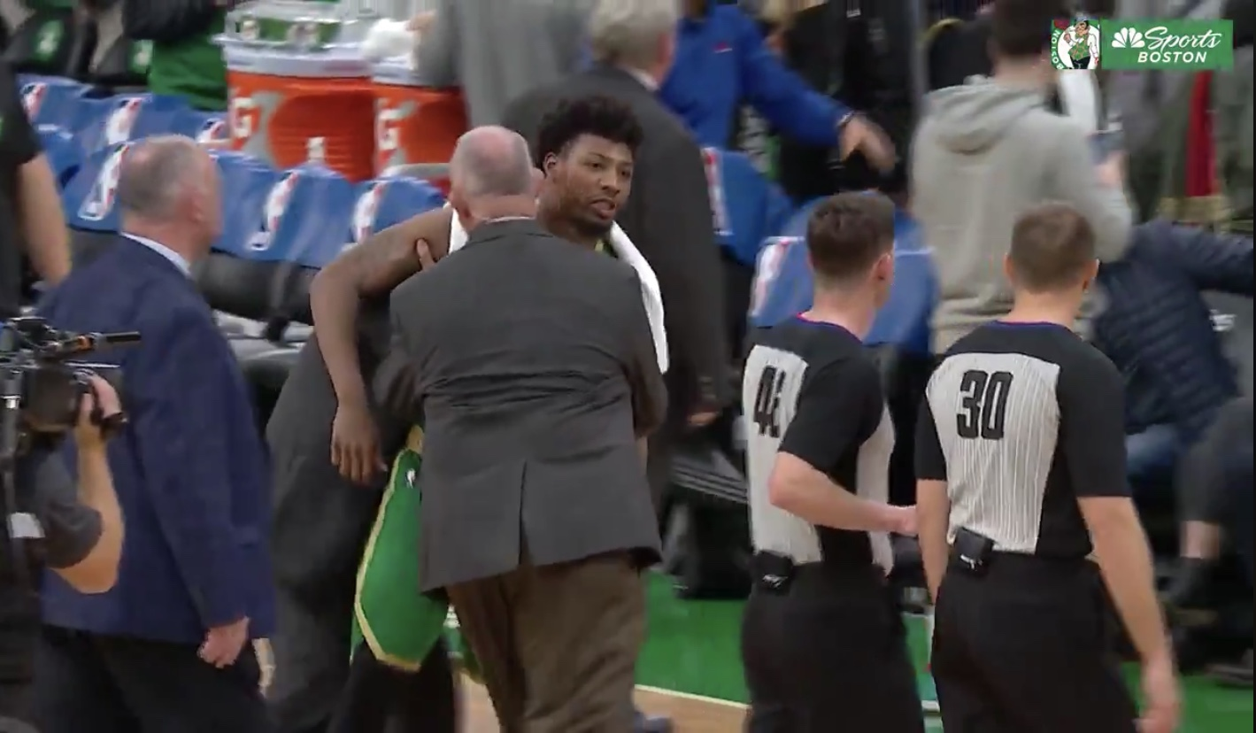 Marcus Smart Calls Ref A Pussy Postgame