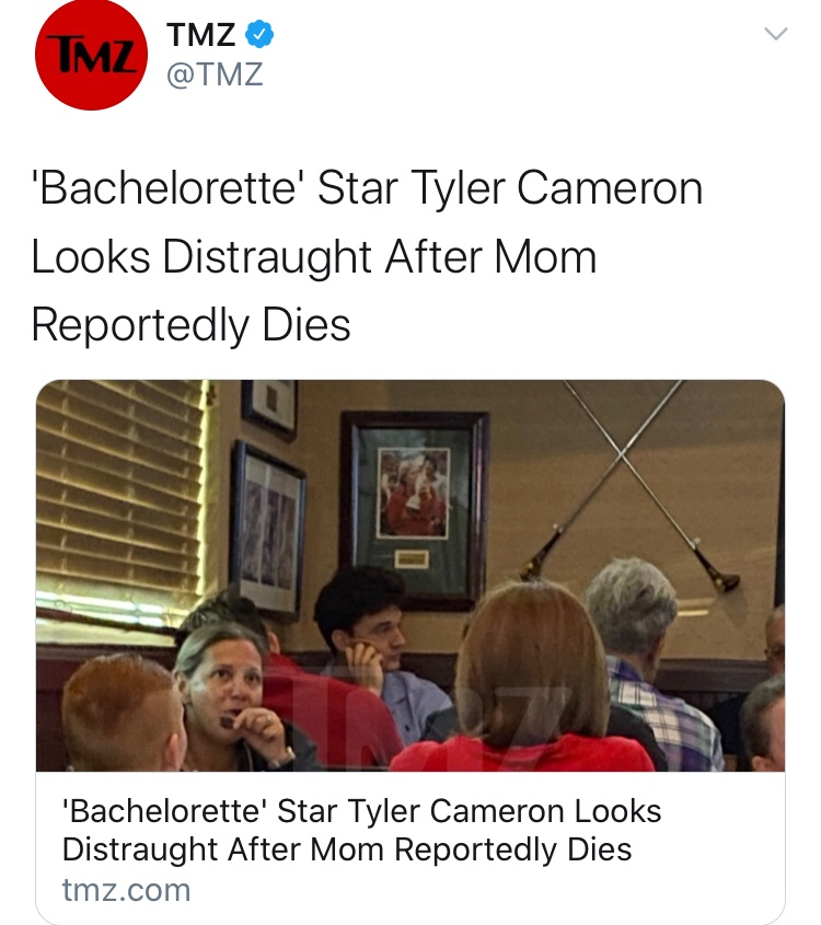 TMZ Is Upset About A Dick Joke But Has No Problem With Dead Moms