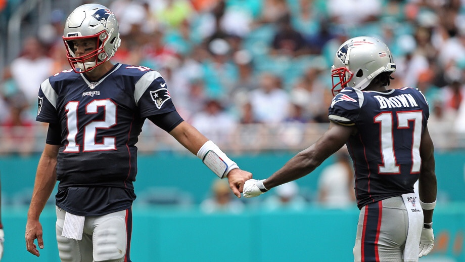 Tom Brady and Antonio Brown Continue On Again Off Again Relationship