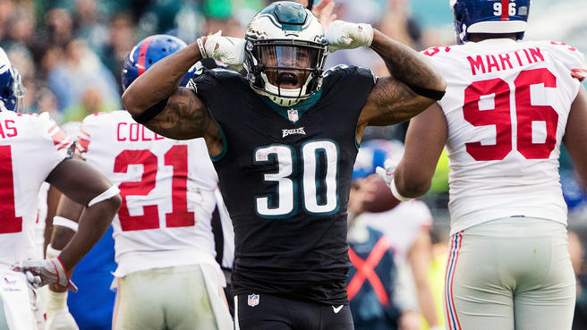 Corey Clement Is Back, And It Sounds Like the Eagles Aren't Done Yet