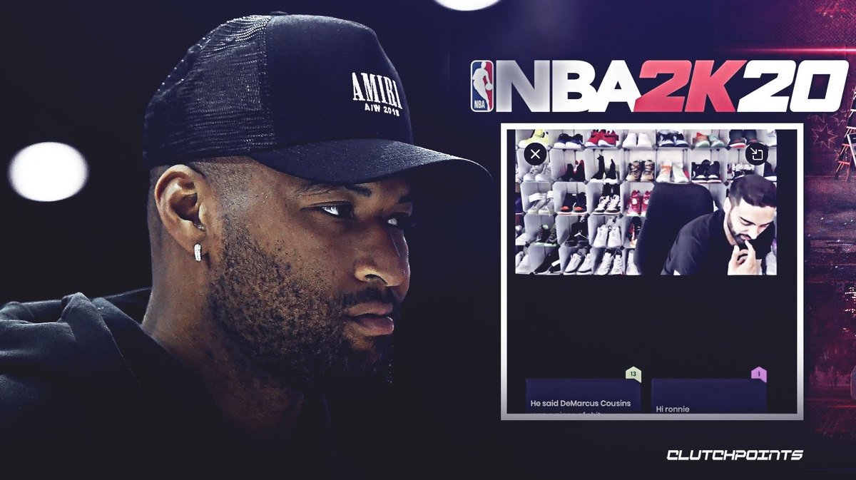 Known Baller Ronnie2K Calls DeMarcus Cousins A Dick While Livestreaming