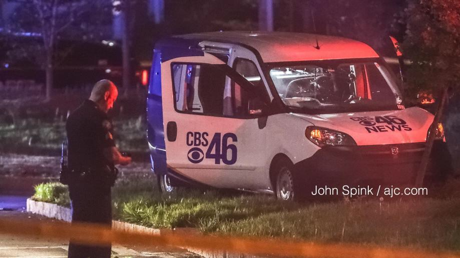 Pregnant Woman In Atlanta Steals News Van… With Reporter Still Inside