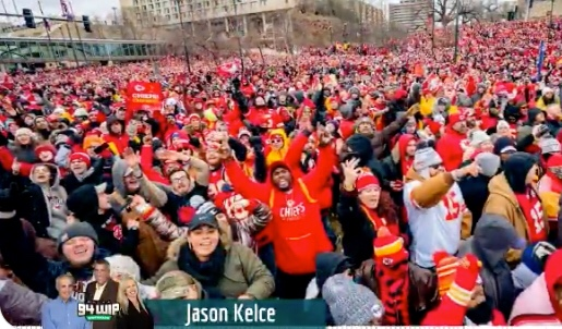 Jason Kelce Calls Kansas City Parade 'Second Rate' Compared To Philly