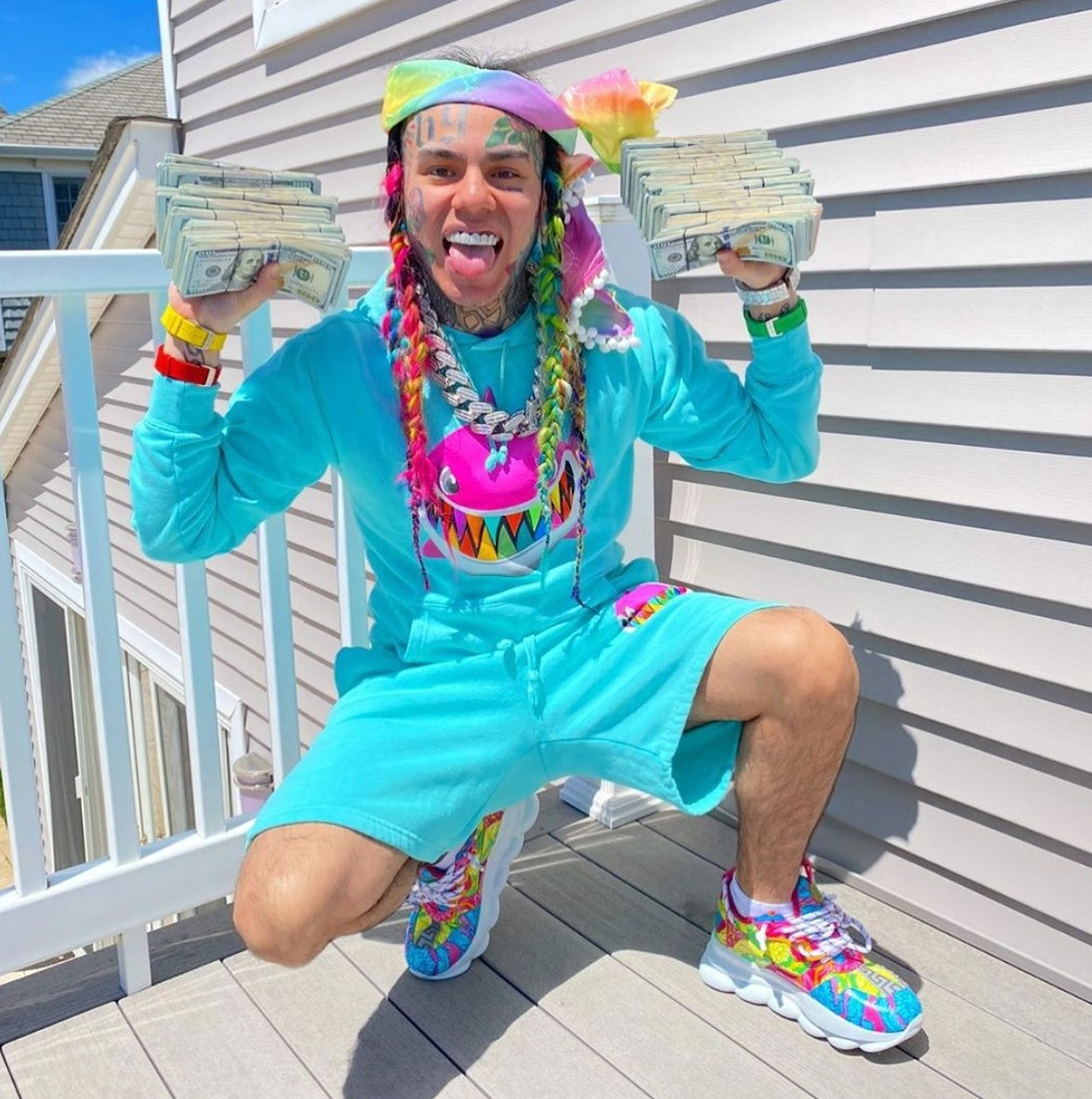 Tekashi 6ix9ine Forced to Move After His Witness Protection Address Was Leaked (Twice)