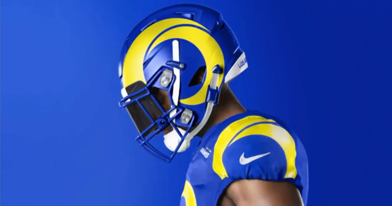 The LA Rams Finally Unveiled Their New Uniforms And….