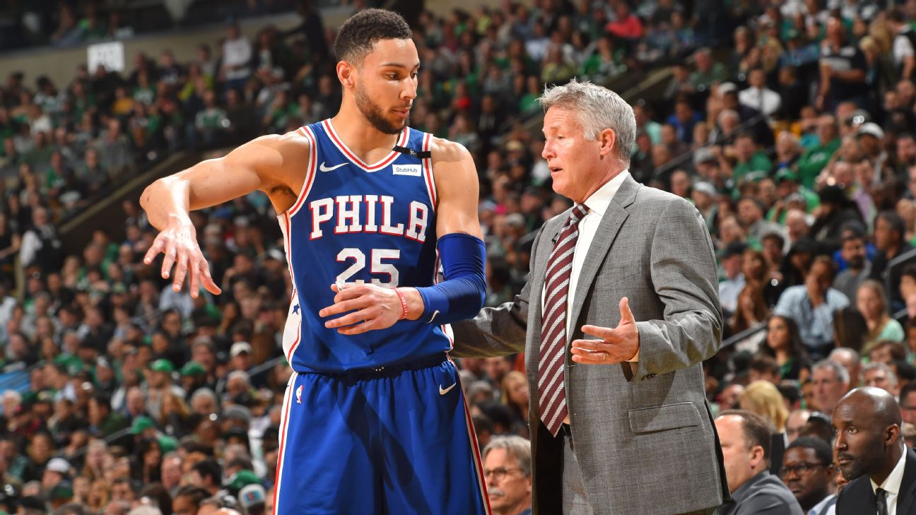 Brett Brown's Comments About Ben Simmons Injury Are EXTREMELY Eyebrow Raising