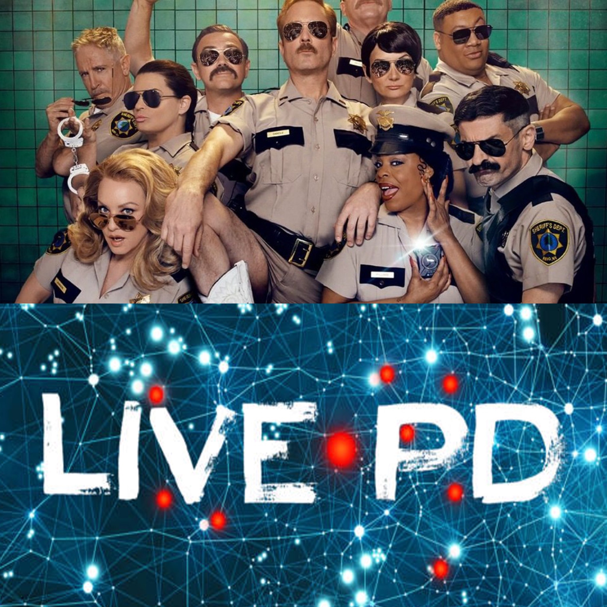 The Reno 911! Reboot is a huge swing and a miss…..and Quibi sucks