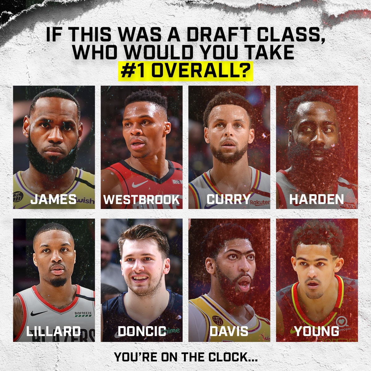 Who Would You Start Your Team With Out Of These Players?