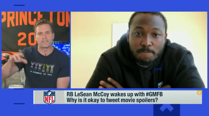 LeSean McCoy Says Spoiling Avengers Endgame Was The Worst Decision Of His Life