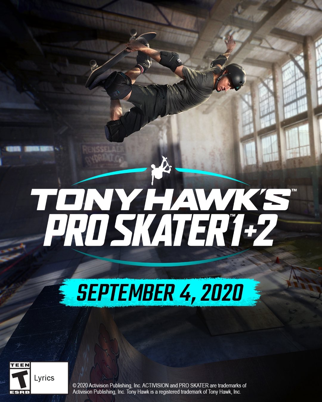 Tony Hawk Announces Remastering Of Tony Hawk's 1&2
