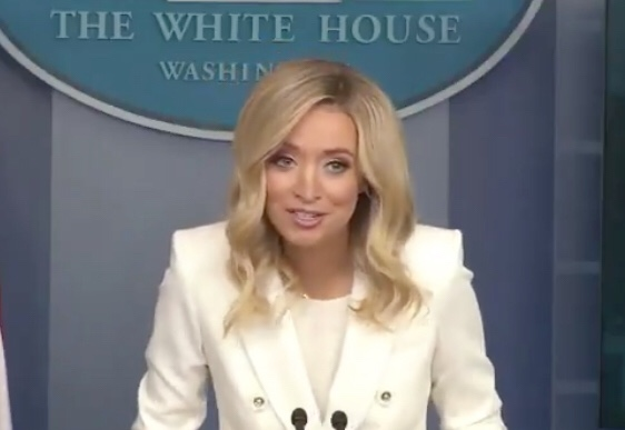 Press Secretary Kayleigh Mcenany Did The Hardest 'I Keep Receipts' You'll Ever See