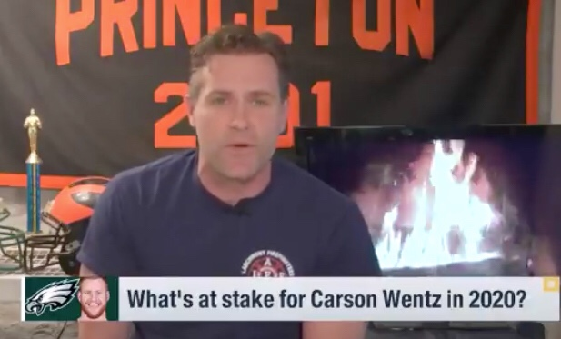 Kyle Brandt Breaks Down Why Carson Wentz Is A Top 5 Quarterback