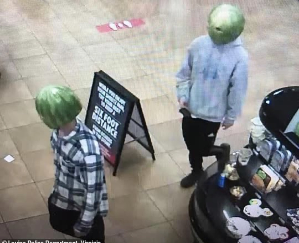 What are aliens doing robbing liquor stores!?