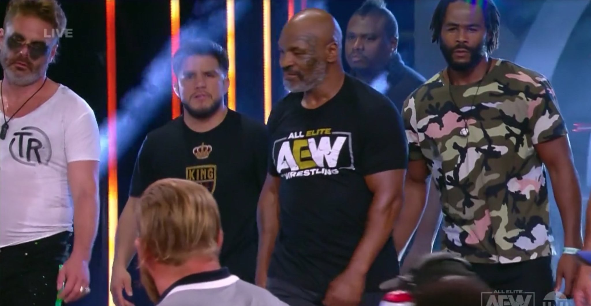 A Mike Tyson and Henry Cejudo pro wrestling tag team? Sign me up!