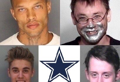 Mugshot Monday: The Dallas Cowboys