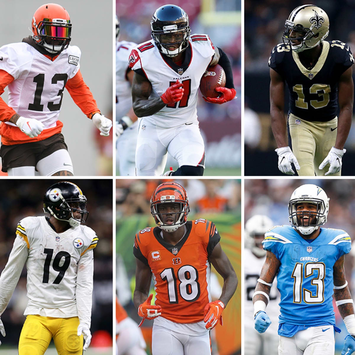Power Ranking The NFL Divisions By Wide Receiver Situations.