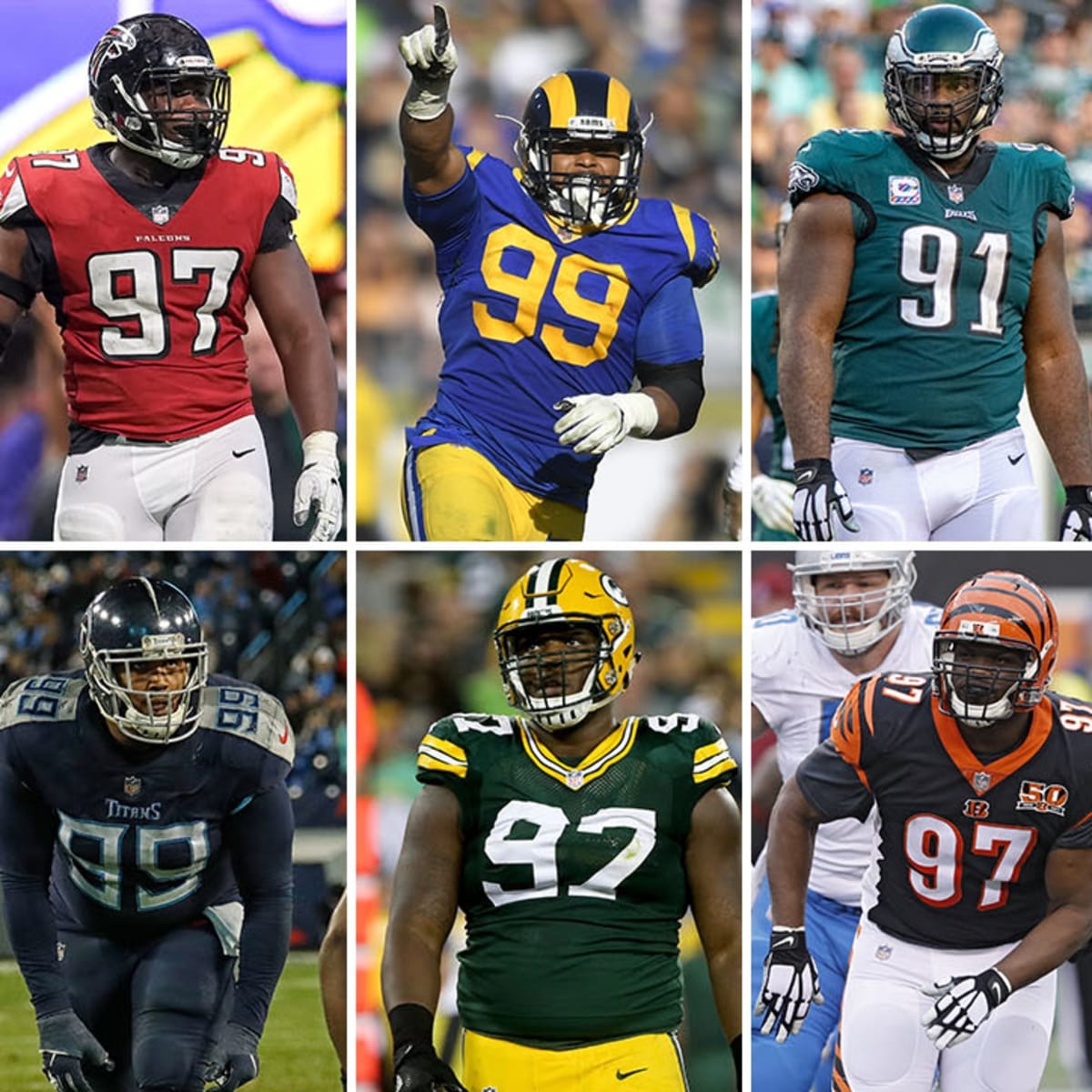 Power Rankings The NFL Divisions By Defensive Line Situations.