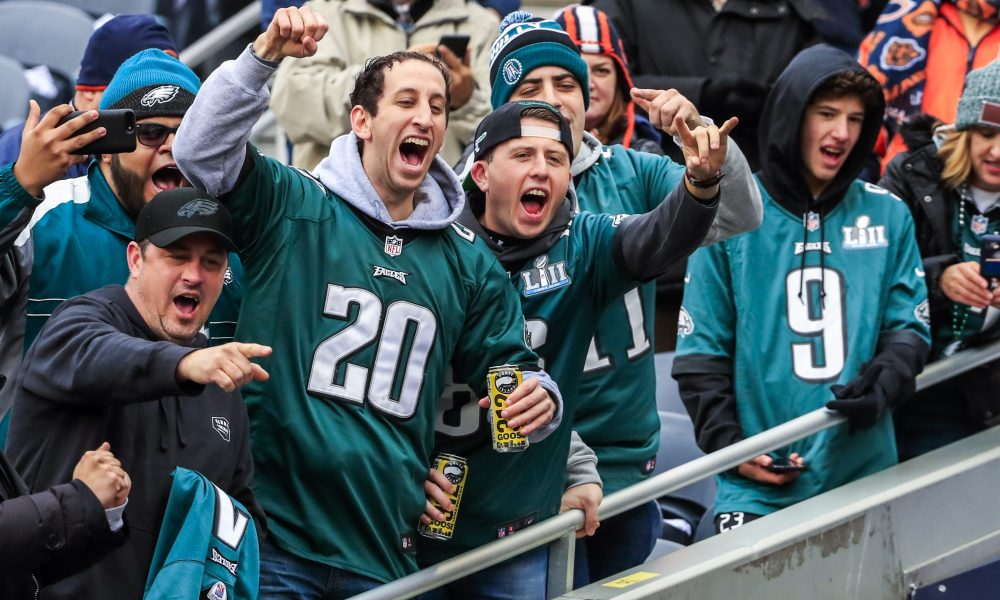 Eagles Fans Named Top 5 Most Passionate Fan Bases…But the Rankings Still Stink Out Loud