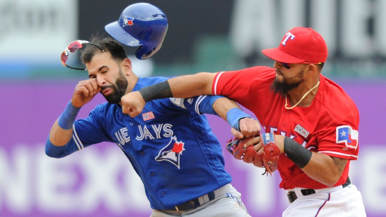 Today In Sports History: Jose Bautista Gets His Jaw Wrecked