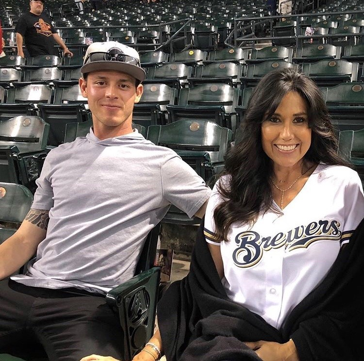 Surprise: Christian Yelich's Mom Is A Smoke