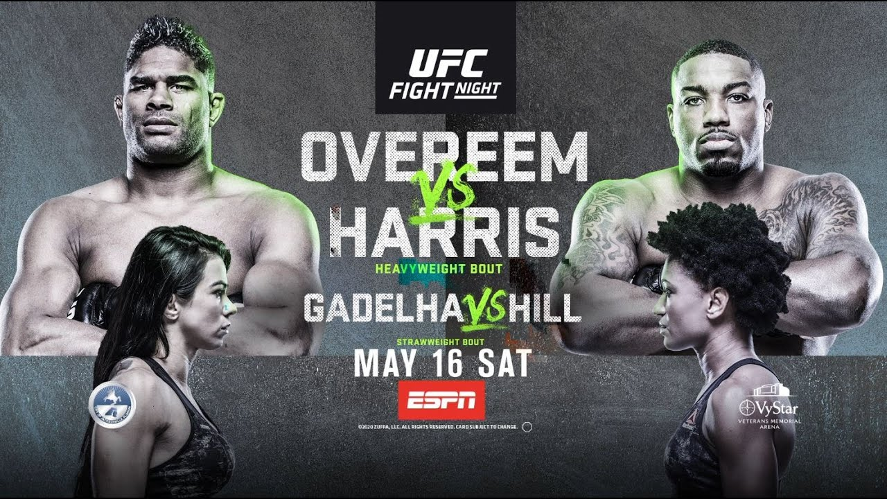FIGHT NIGHT AGAIN! Overeem vs Harris
