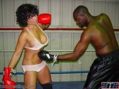 Inter-gender Kickboxing goes down in the history books! Click to see who won!