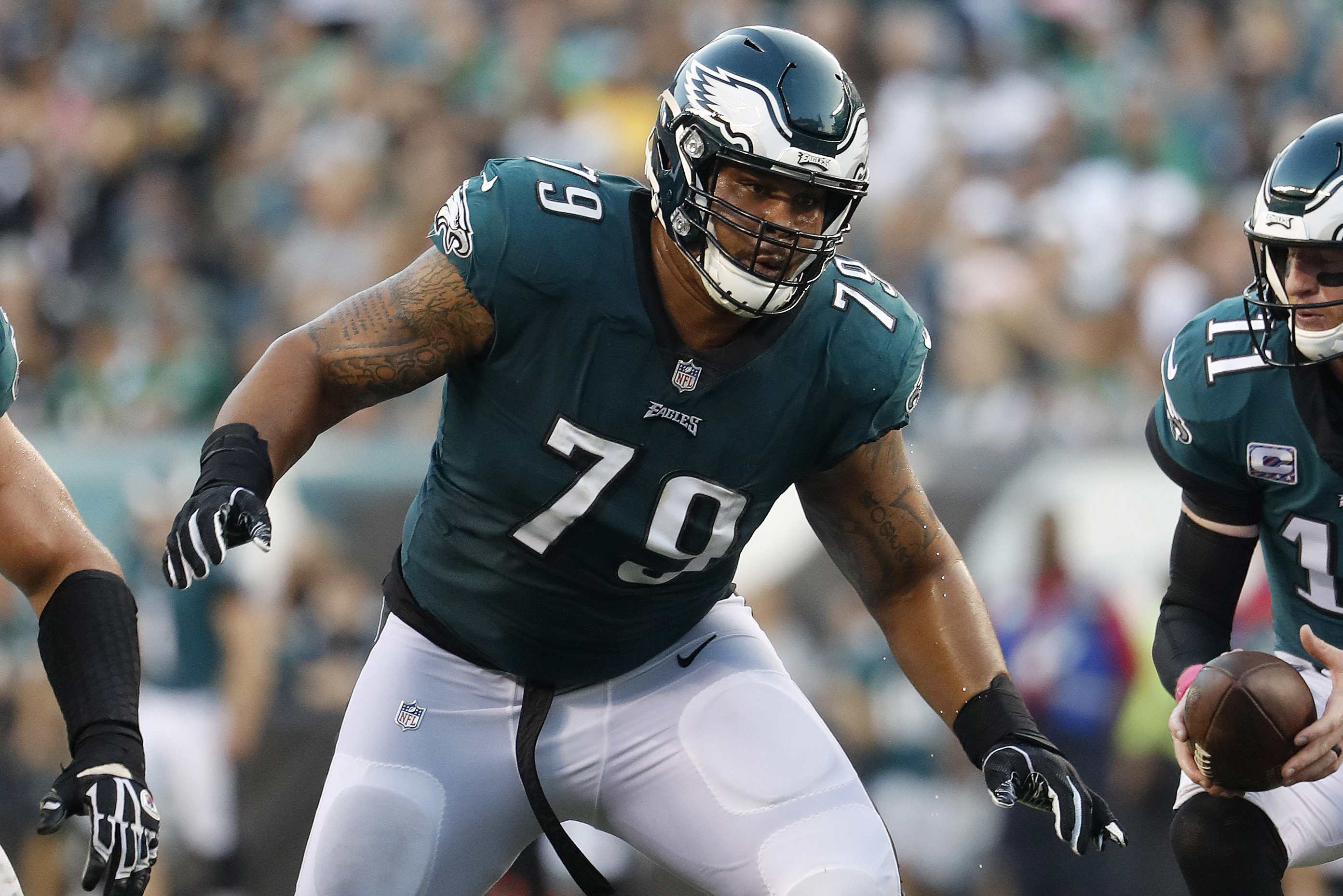 Brandon Brooks Tore His Achilles and Is Already Out For the 2020 Season
