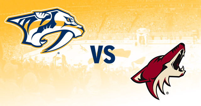 NHL Playoffs: Predators vs Coyotes Preview