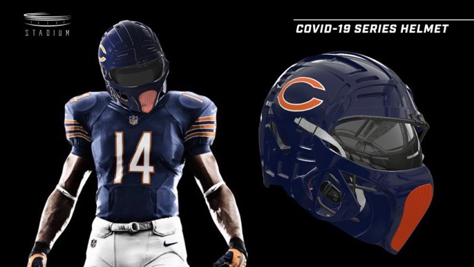 These NFL COVID-19 Helmets Kinda Slap