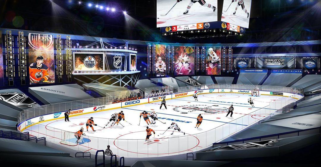 A Preview of How The Stanley Cup Playoff Games Will Look