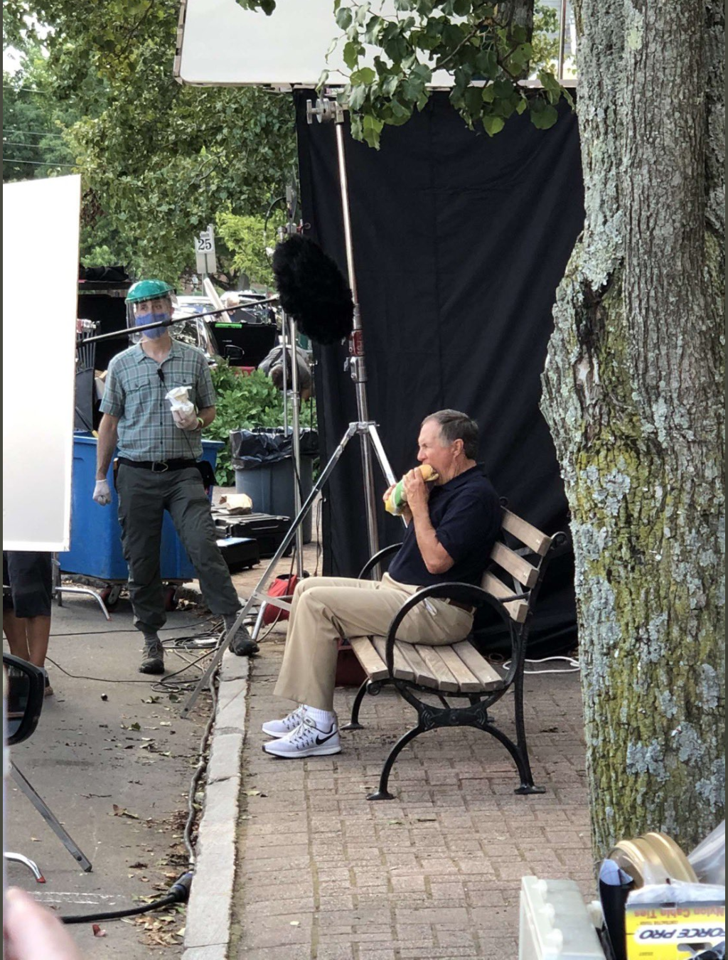 Bill Belichick Appears To Be Making The Most Iconic Subway Commercial Of All Time