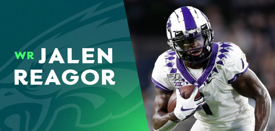 Officially Official. Eagles Sign Jalen Reagor