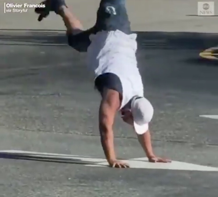 Florida Man Tries To Cartwheel Away From Being Arrested. Let's See How That Goes