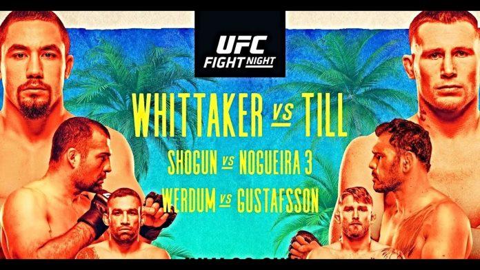 UFC Fight Island 3: Whittaker vs Till