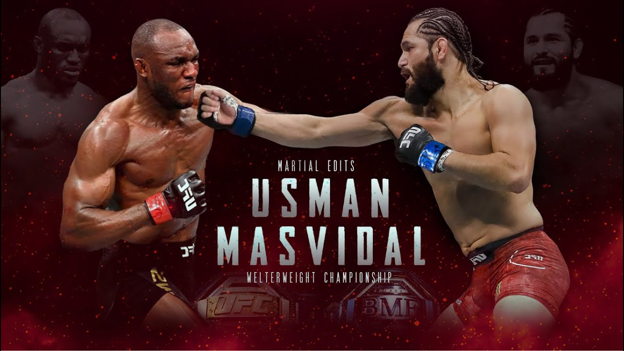 BREAKING NEWS: Jorge Masvidal, Kamaru Usman Agree To Fight At UFC 251 On Saturday