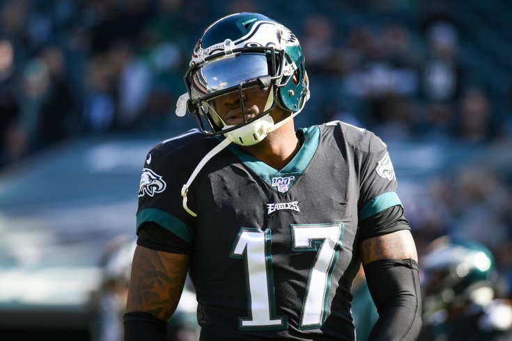 We've Got Murky Timetable Updates on Alshon Jeffery's Return to the Eagles