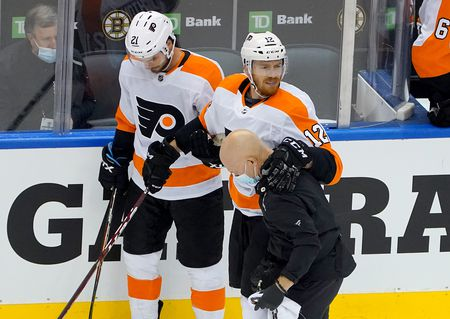 Flyers Michael Raffl Injured