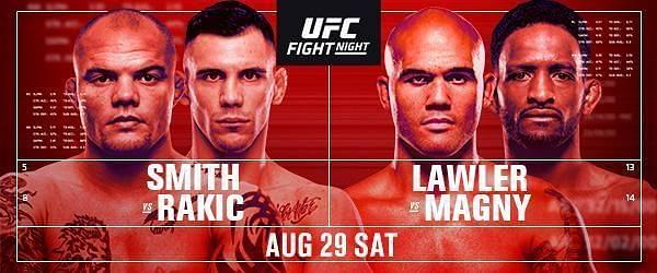 What To Expect From UFC Fight Night: Smith vs Rakic