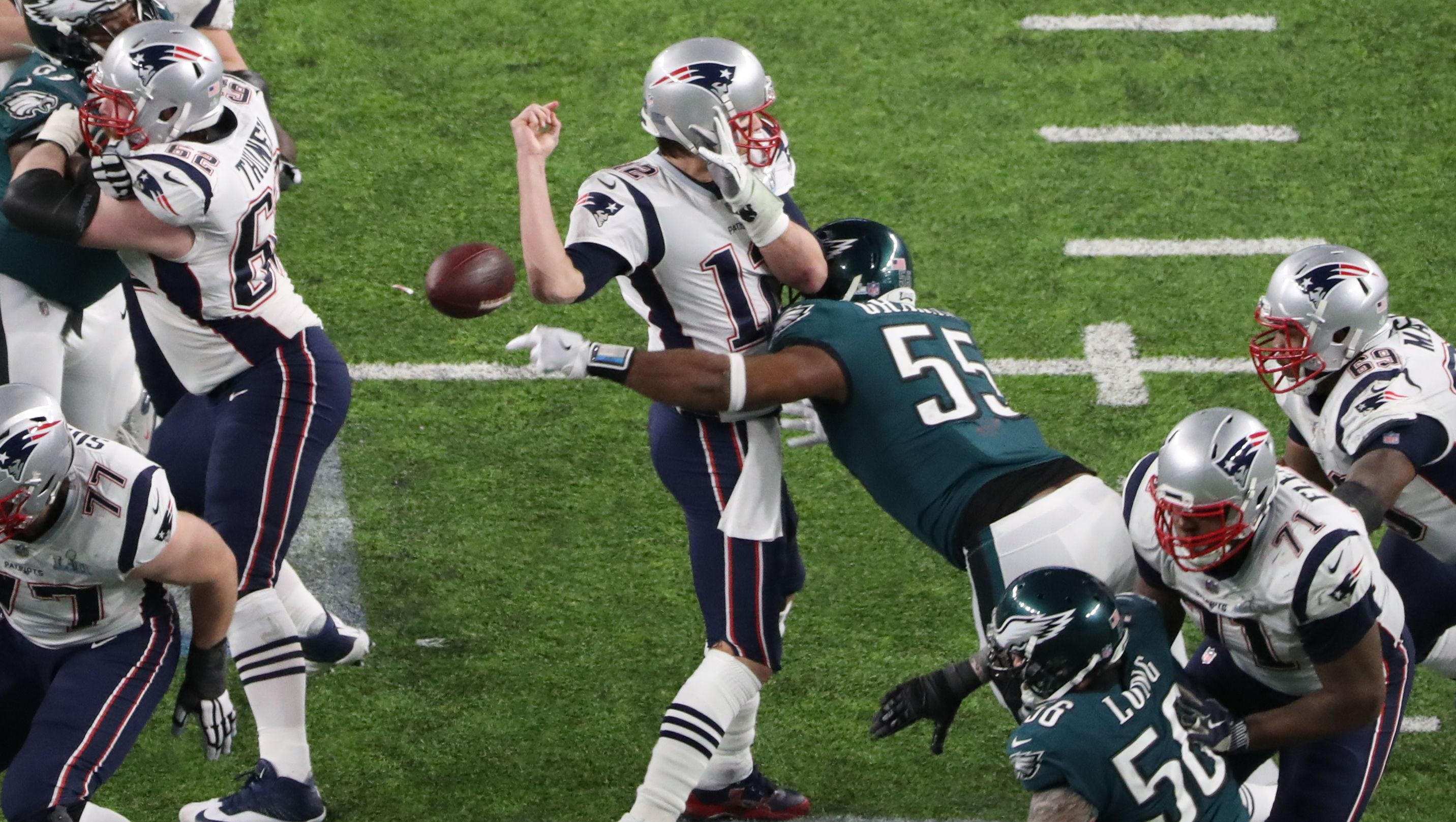 In Honor Of Tom Brady's Birthday Yesterday. Here Is His Last Super Bowl Lost To The Eagles. Go Birds!